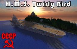 H.M.S Twirly Bird [With Save/Schematic!] Minecraft