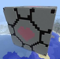 Companion cube v2.0 Minecraft Project