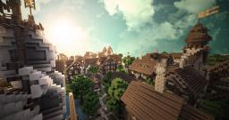 Elbringen Haven - A Tudor-styled Port-City Minecraft Project