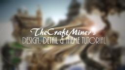 Tutorial: Design, Detail & Theme Minecraft Blog Post