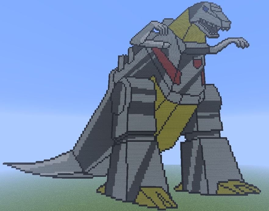 Grimlock Dino Mode Minecraft Project