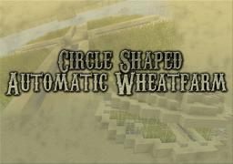 Minecraft tutorial | Minetorial | Circle shaped, automatic wheatfarm Minecraft