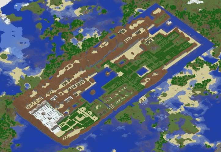 Legend of Zelda NES Creation Map for Minecraft 1.2.5 Minecraft Project