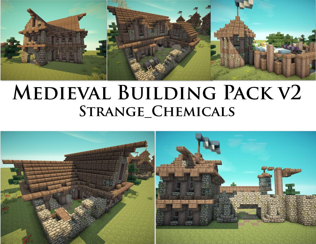 Medieval Buildings World Download Minecraft