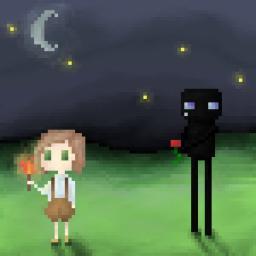 Pixel-ish art Minecraft Blog