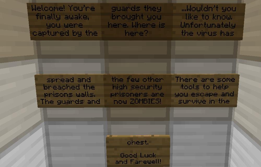 Escape Minecraft Project