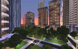 Garden District New Crafton (Finished) Minecraft Map & Project