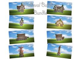 Medieval Buildings Bundle Minecraft Project