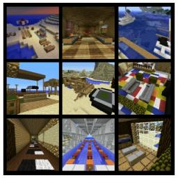 MCF inspired manor Minecraft Map & Project