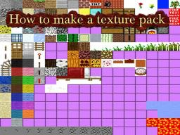 How to make a Texture Pack - Very Easy! Minecraft