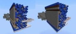 Minecraft: Hidden Railway Ledge (Perfect for Cliffs and Ravines) Minecraft
