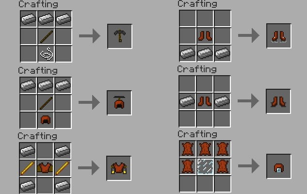 Minecraft   Crafting Recipes Armor Stand