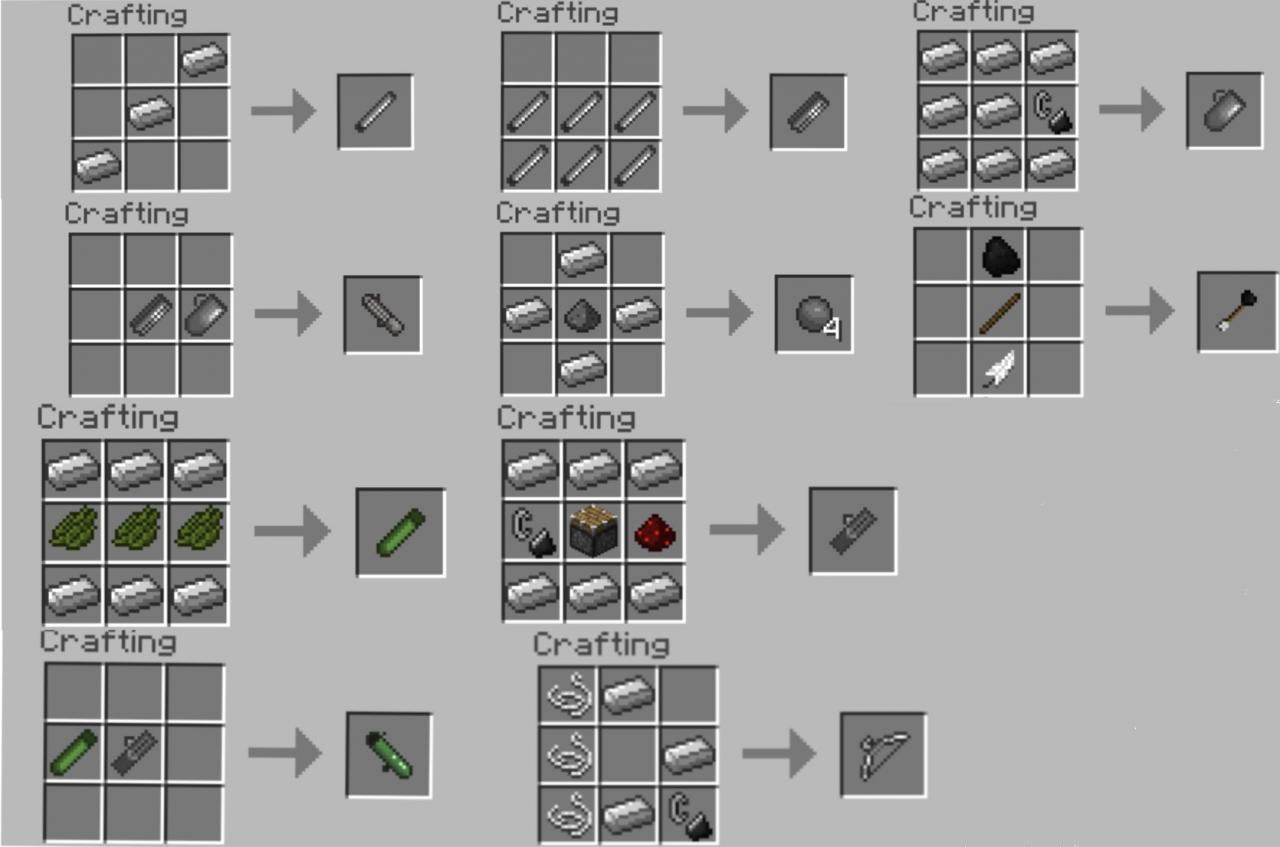 Crafting Clay Mod