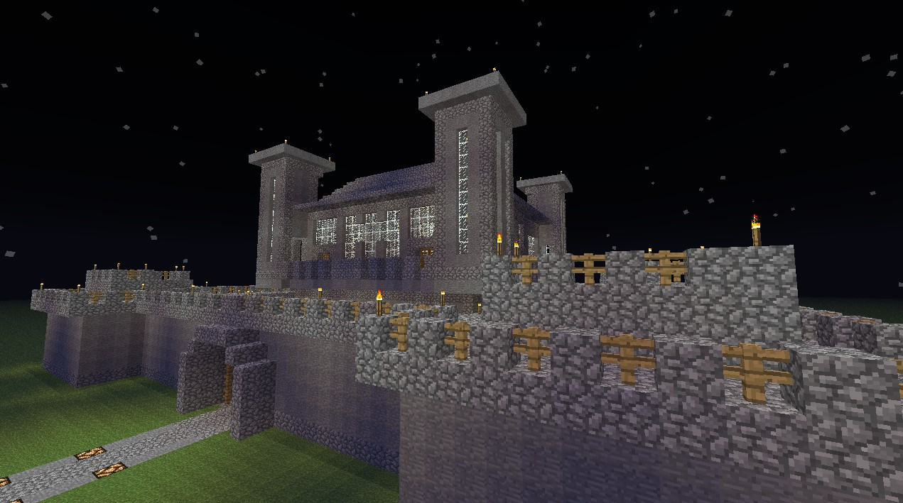 stone castle minecraft project