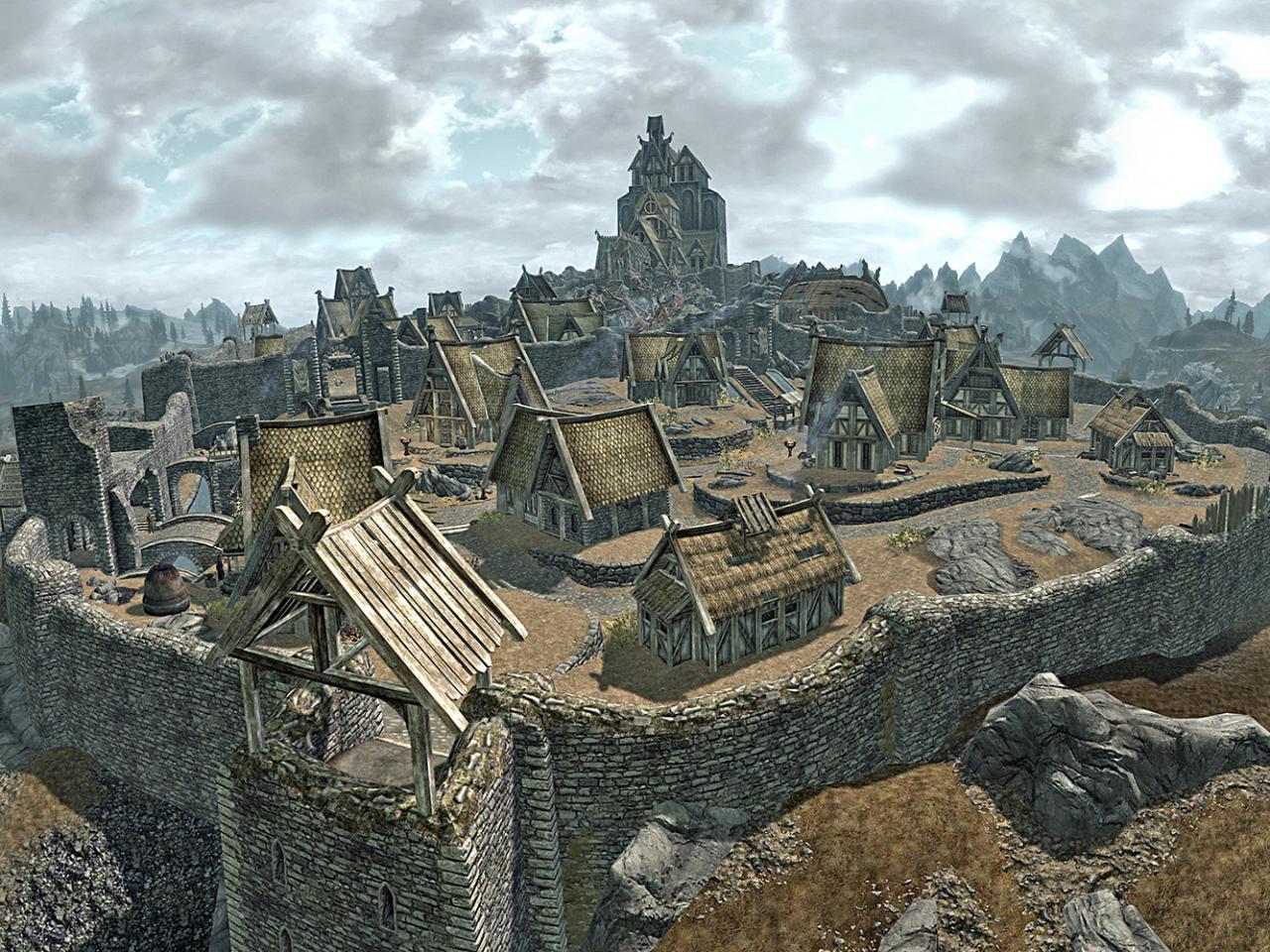 Skyrim - Whiterun Minecraft Project