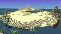 Tropical Desert Terrain| FREE DOWNLOAD| Minecraft Project