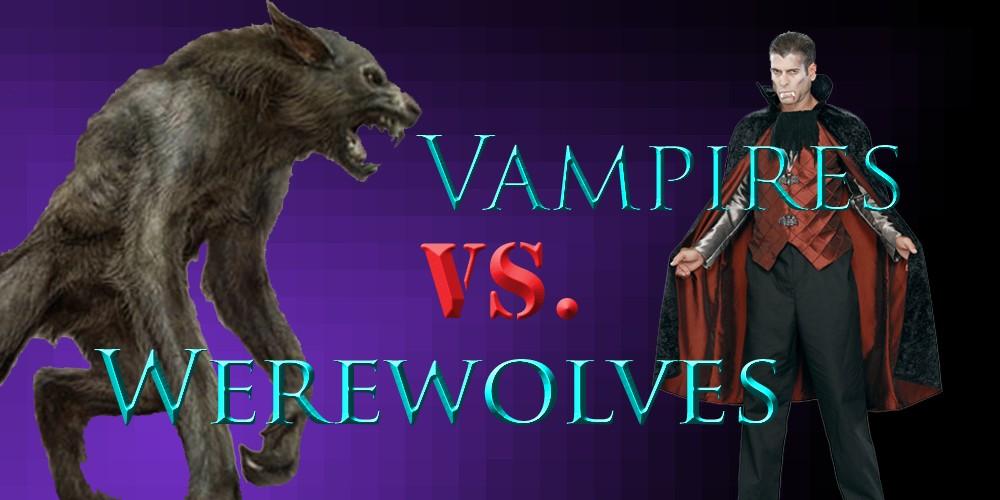 Vampires vs. Werewolves Skin Battle Minecraft Blog