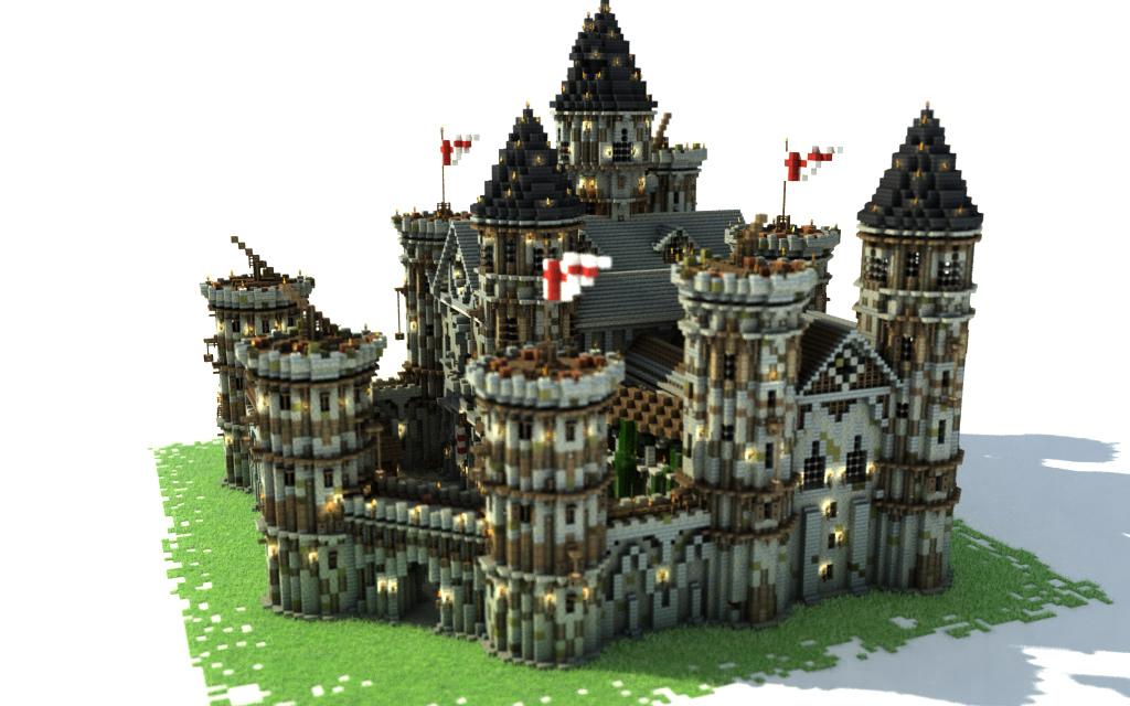Minecraft Medieval City Download Medieval building pack...