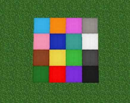 Craft Wool Minecraft