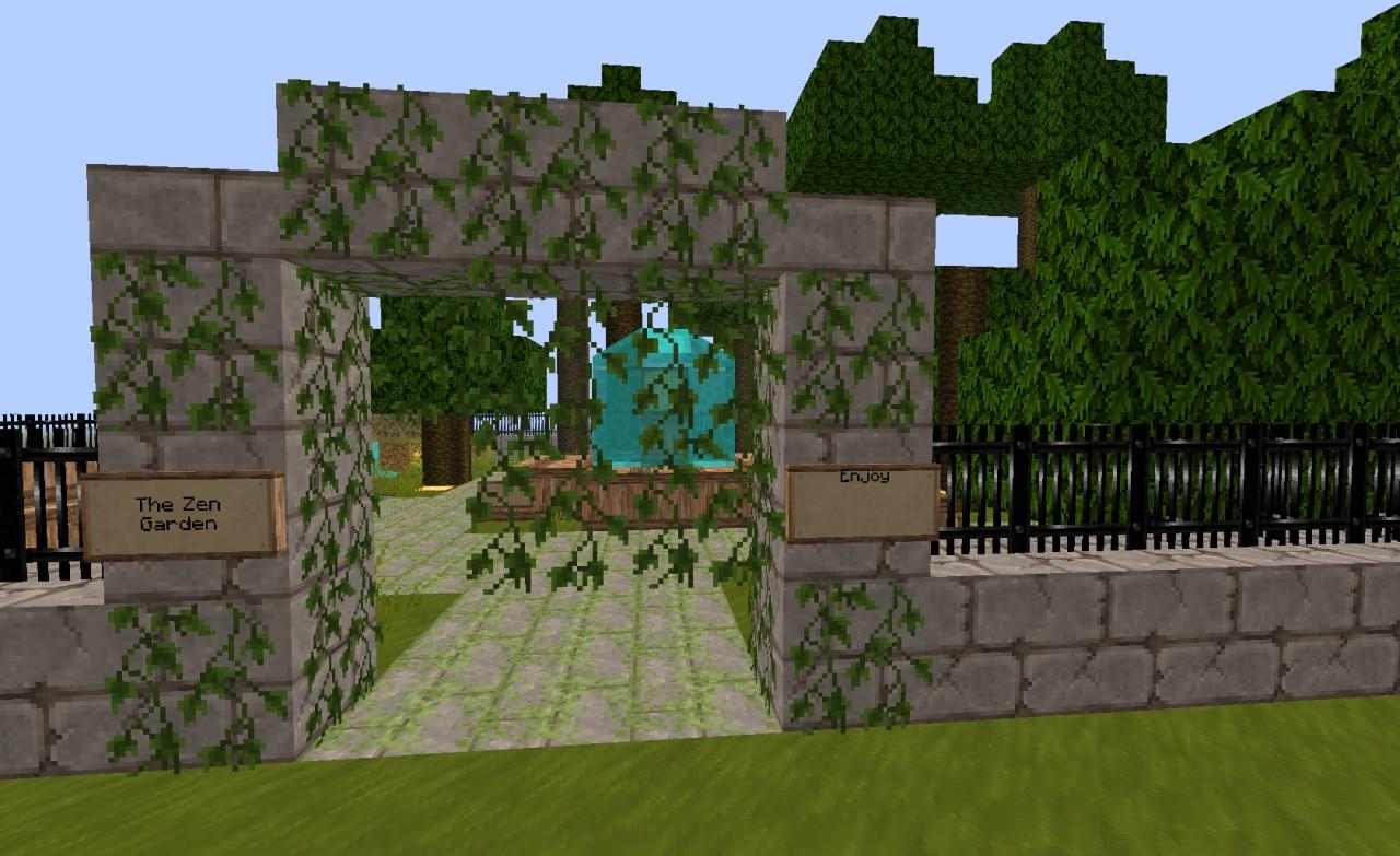 Minecraft beautiful garden garden decoration ideas minecraft garden decoration ideas minecraft - Minecraft garden designs ...