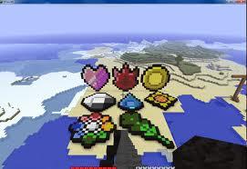 Pokemon Badges Pixel Art Minecraft Map