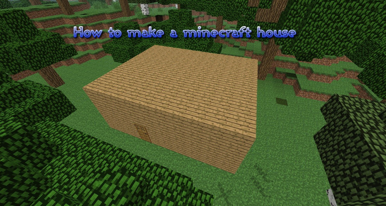 how to build a house in minecraft pe survival mode