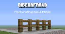 MC Concept - Flush Retractable Fence Minecraft