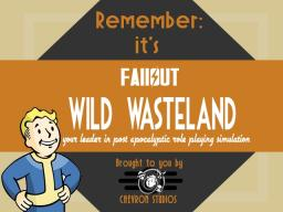 Fallout Wild Wasteland☢Guns☢Spout☢Factions☢HardcoreRP