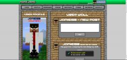 MineZone - Social Network For Minecraft Minecraft