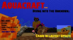 [1.2.5] Aquacraft V1.3 - Crabs, Multiplayer Support and Much More!! Minecraft Mod