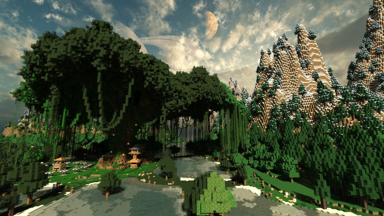 Pandora A Minecraft Survival Games Map Minecraft Project