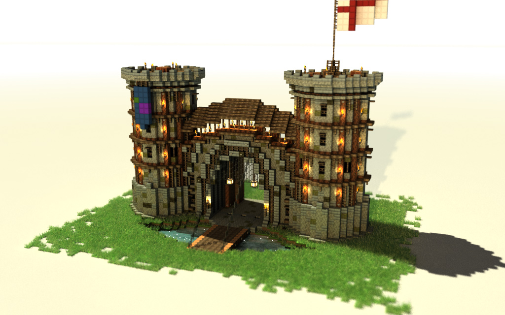 Medieval building pack angelblockapp minecraft project for Porte and minecraft