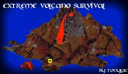 Extreme Volcano Survival [CUSTOM TERRAIN] Minecraft Project