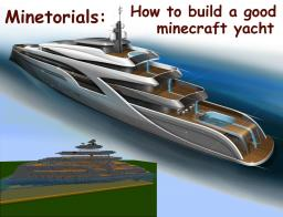 How to build a good yacht Minecraft