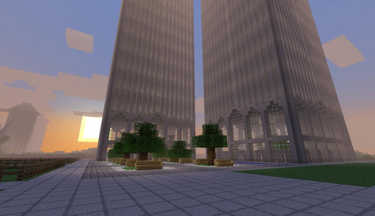 World Trade Center Minecraft Project