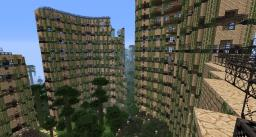 Hotel Ruins + Ultra Hardcore (UHC) + Survival PVP Minecraft Map & Project