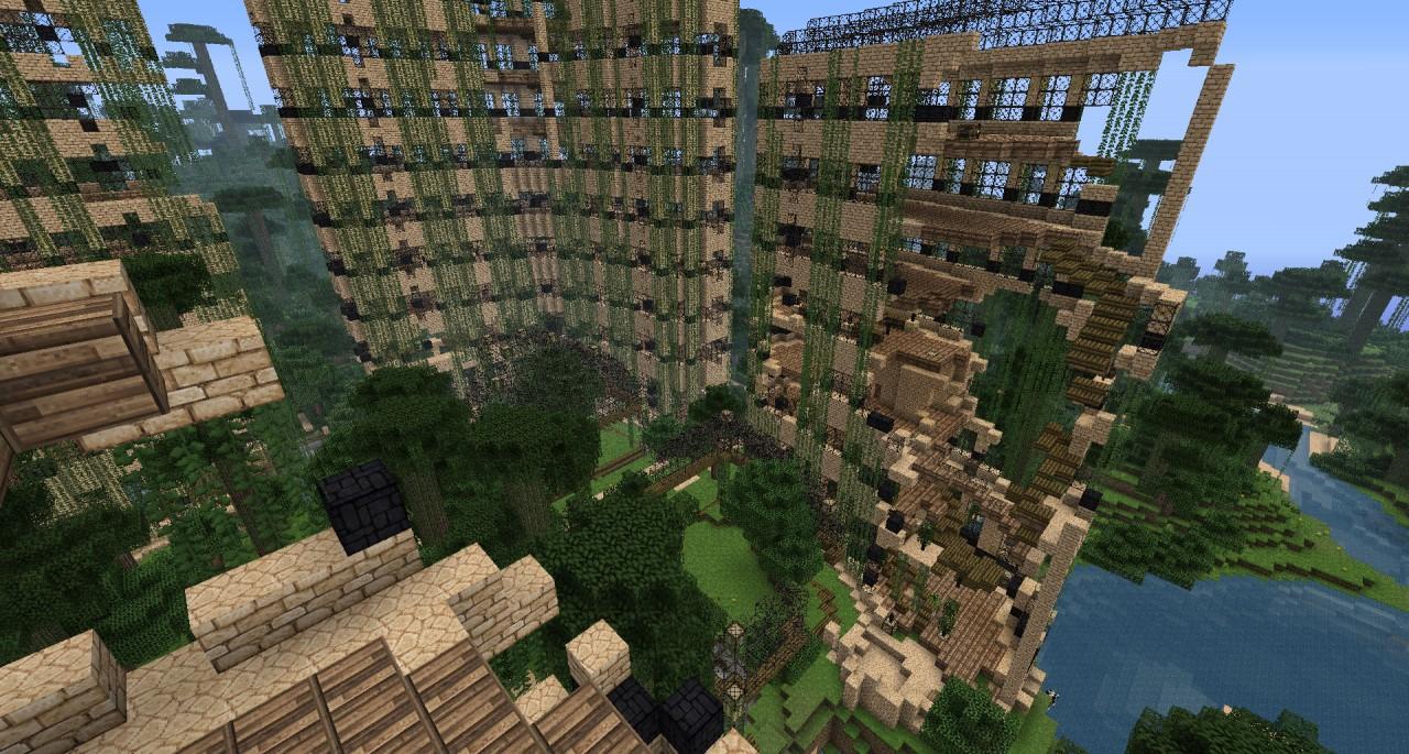 Ruined Hotel - Earth Quake Damage