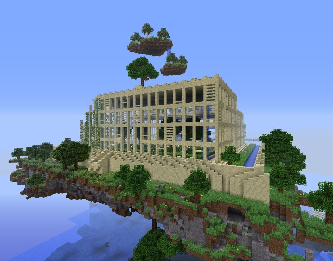The Hanging Gardens Of Babylon 1 Minecraft Project