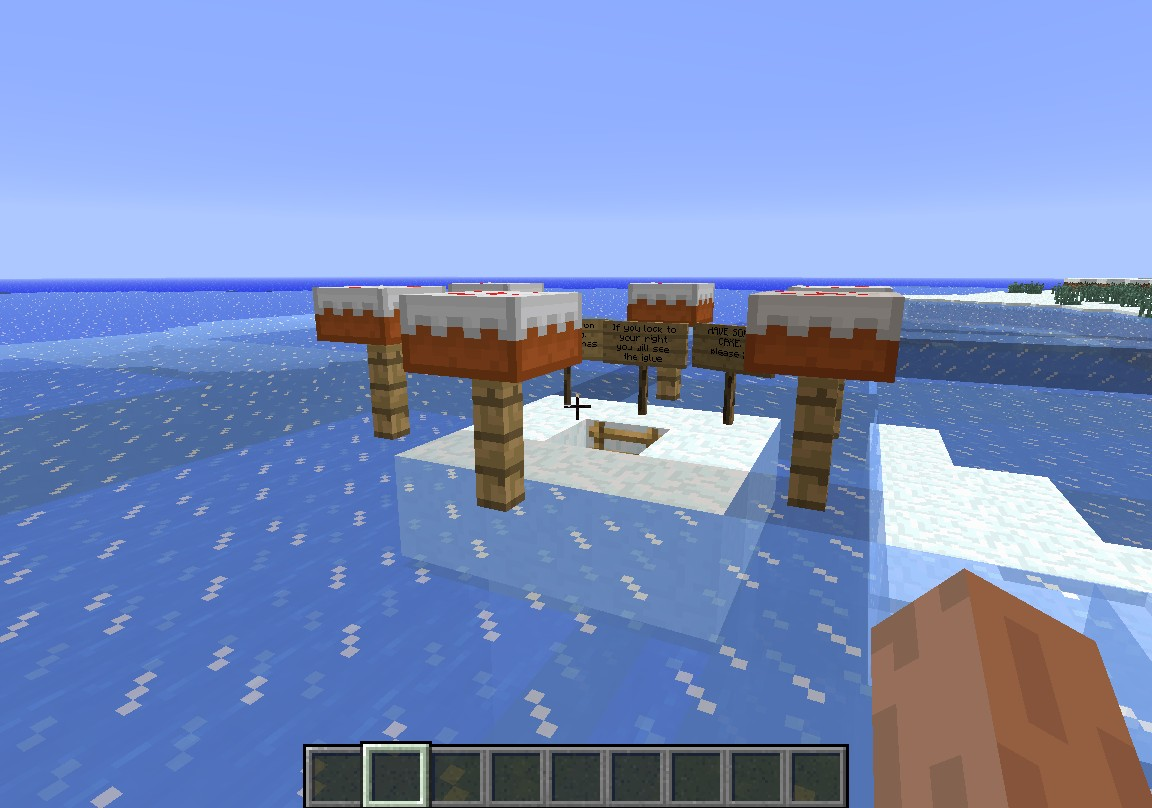 Igloo Escape Minecraft Project