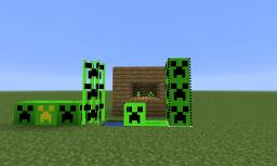 Farmable Creepers Minecraft Texture Pack