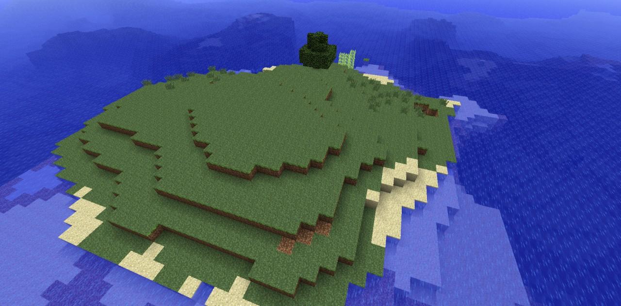 Minecraft Survival Island Map   Seed