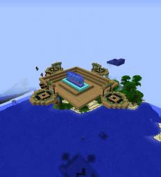 Server spawn (New Spawn} Minecraft Map & Project