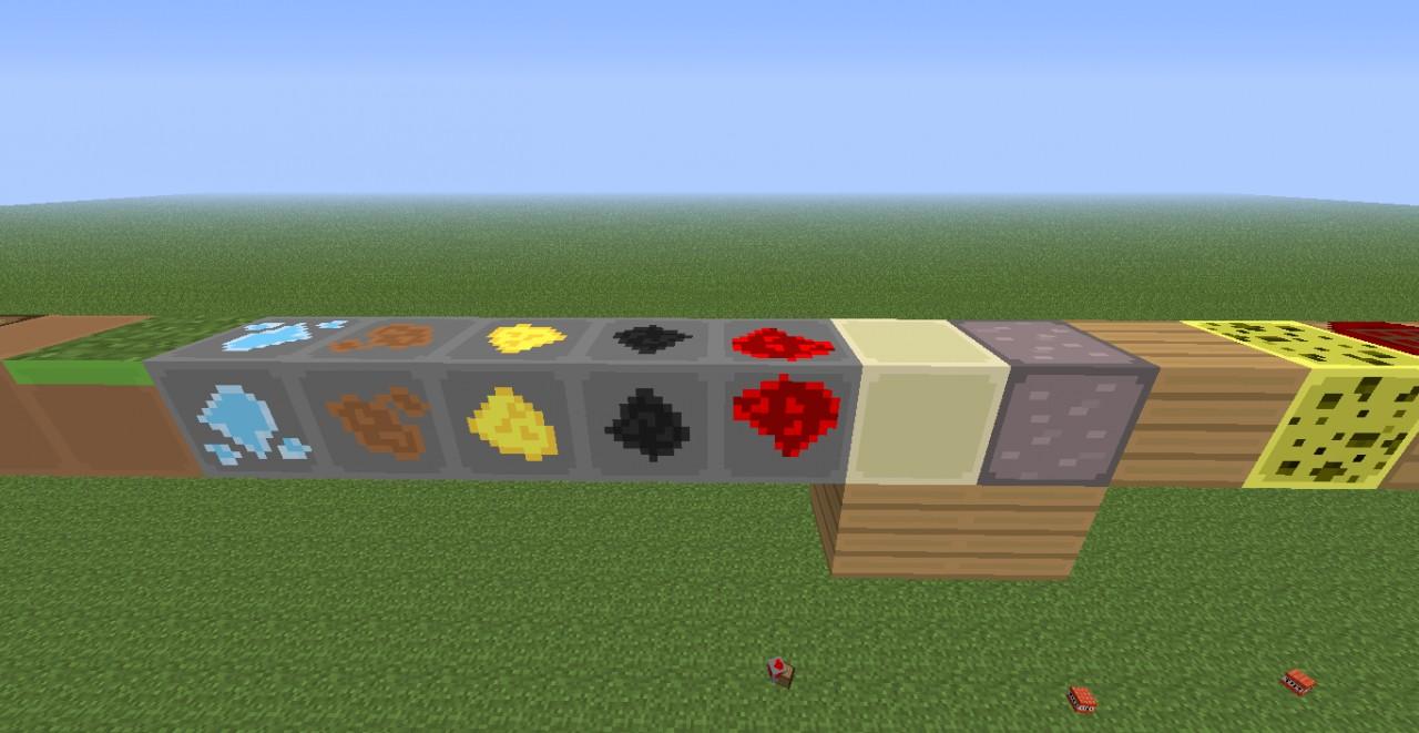 More blocks + Ores