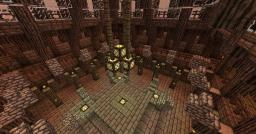 Viking inspired Spawn Building Minecraft Map & Project