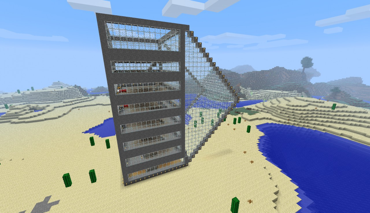The Massive Beach Hotel Minecraft Project