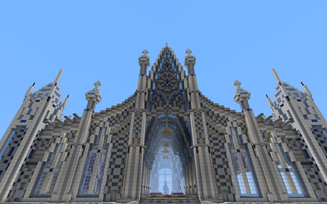 Axxor The Cathedral Of Ice Minecraft Project