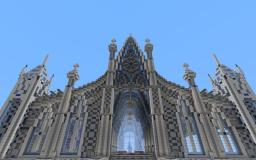 Axxor, The Cathedral Of Ice. Minecraft
