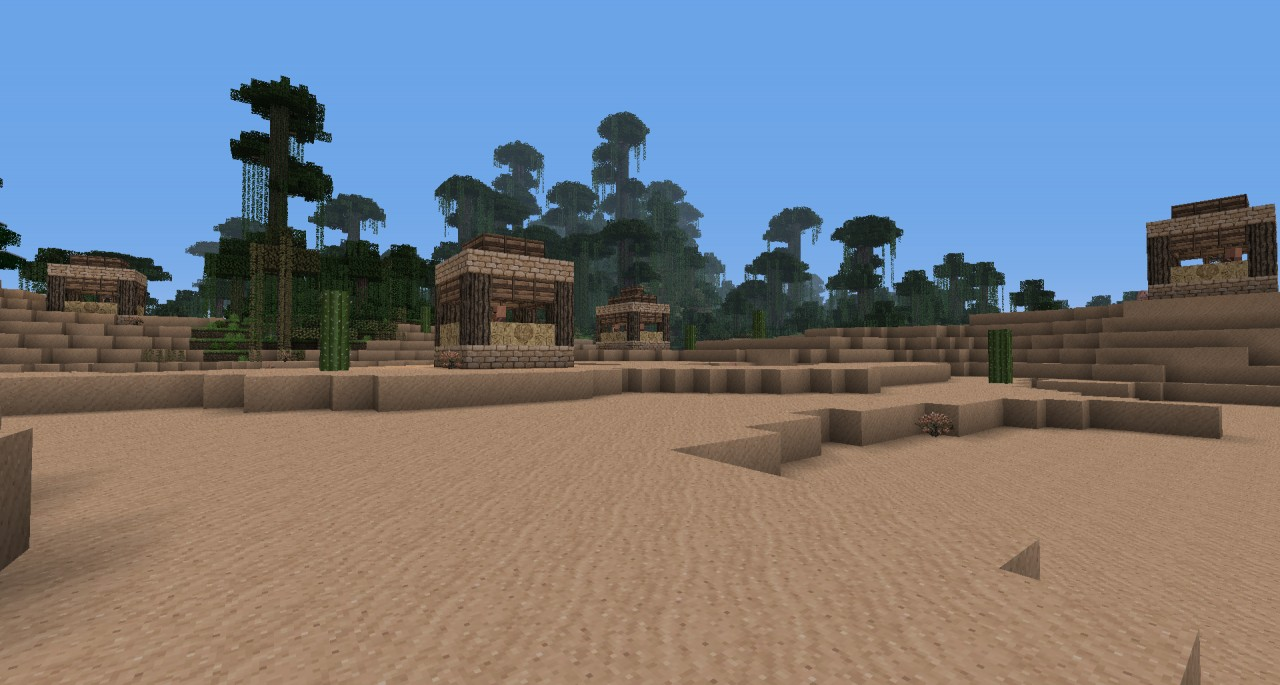 Desert Village - Town Square