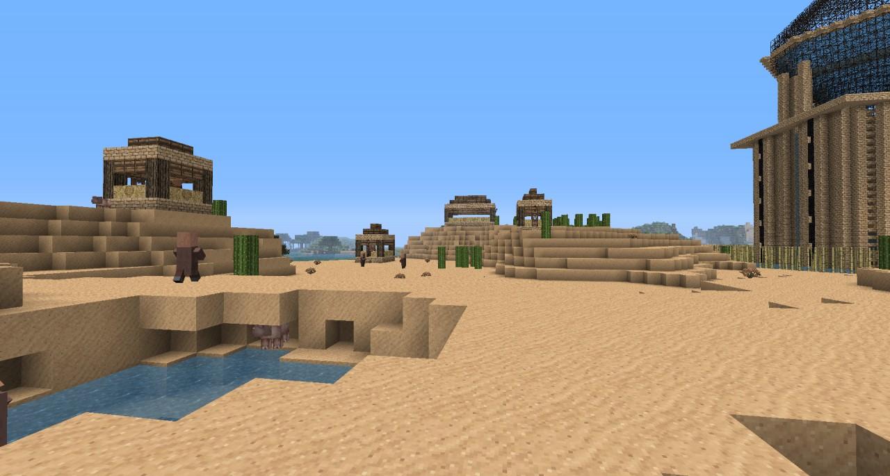 Desert Village - Oasis