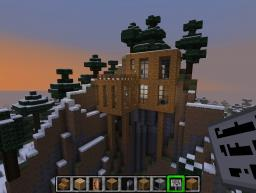 Massive Mountainside House Minecraft Map & Project